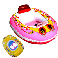 Wholesale Hot Sales Baby Swimming Ring Inflatable Swimming Laps Pool Swim Ring Seat Float Boat Safely Environmental PVC Pool Toys JF0033