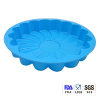 Cake Moulds candy molds - Premium FDA Silicone Shallow Flower Inch Bakeware Microwave Pan Silicone Cake Muffin Bread Molds Chocolate Mold Jelly Candy Silicone Tools