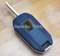 Wholesale 3 Buttons Modified Flip Remote Key Shell For Citroen Triumph Sega C5 VA2 Blade without Groove M36451 car