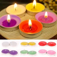 Wholesale Romantic Wide scented Tealights Party Wedding Tea Light Candles