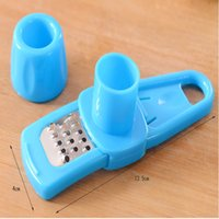 Wholesale Cooking Mini Tools Multi function Grinding Garlic Grater Home Kitchen Gadgets Utensils Accessories Stainless Steel Machine New