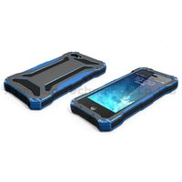 For Apple iPhone gundam - Brand New Gundam II Waterproof Case Extreme Aluminum Silicon Shockproof Cell Phone Casing Premium for iPhone S Blue Color