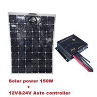 126-200 W flexible solar panel - sunpower flexible solar panel W front side connection box V V Aoto build in timer solar controller