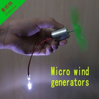 Wholesale LC29 DIY toy Miniature dc wind power wind turbine model demonstration teaching tool to drive the LED model DIY production technology