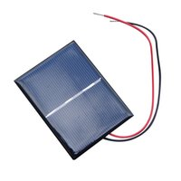 Wholesale 4 V W mA Solar Panel Poly Module DIY Small Cell Charger