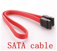 Wholesale 2016 Sata Cable Sata Cable Time limited Desktop New Serial Hard Drive Data Cable sata for Desk Computer Pc sata pc