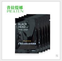 facial mask - PILATEN Suction Black Mask Face Care Mask Cleaning Tearing Style Pore Strip Deep Cleansing Nose Acne Blackhead Facial Mask Remove Black Head