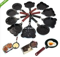 Wholesale Various Mini Non Stick Egg Frying Pancakes Kitchen Pan Housewares Cauldron