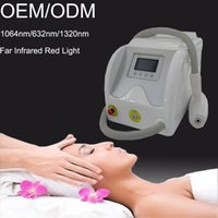 tattoo removal machine - 532nm nm nm Q switched ND YAG Laser Machine for Tattoo Removal Skin Rejuvenation spots Hair remvoal with red Infrared Light