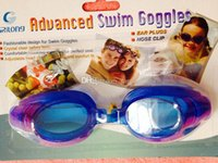 picture glass - Hot selling high quality swimming glasses picture frame large anti fog anti uv swimming goggles fast shipping