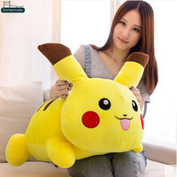 baby model japan - Dorimytrader cm Japan Anime Pikachu Doll Stuffed Soft Plush Big Cartoon Pikachu Toy Models Nice Baby Gift DY60978