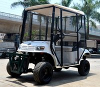 Wholesale golf carts custom Electric golf car pick up ball golf course site special for AX C2 suvs golf ball carts