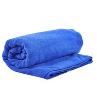 Wholesale 60 cm Cleaning towel car wash towel cloth car ultrafine fiber thickening supplies of injectivity oversized tools