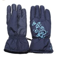 Wholesale NEW Waterproof Ski Glove Outdoor Windproof Skiing Snowboard Winter Warm Cycling Bike Gloves for Adult