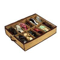 bamboo brand shoes - New brand Transparent Admission Shoe Bag Folding Storage Box
