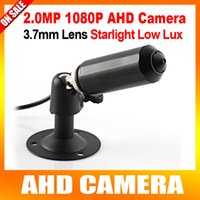 Wholesale 1 quot Analog High Definition Mini HD MP P Bullet AHD Camera Waterproof Lux Starlight Low Lux Day Night Color Image