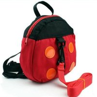 Wholesale Mom s Helper Baby Toddler Walking Assistant Child Keeper Safety Harness Strap Ladybug Pattern Backpack Bag