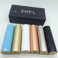Precio de Atomizador derringer-SMPL Mod completo Machanical Mods de cobre rojo SS Negro de bronce blanco SMPL Mod clon de ajuste Derringer RDA RBA atomizadores vs manhattan apolo praxis M6