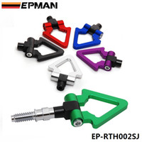 000 000 000 EPMAN Racing Billet Aluminum Triangle Ring Tow Hook Front Rear For BMW European Car Trailer EP-RTH002SJ