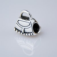 big bag music - 925 Silver Pandora Bead Big Hole Beads For Charm Bracelets sterling silver Bracelets Metals Loose Beads Jewelry DIY with bag PDL021