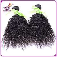 Cheap 15% Off ! Unprocessed Hair Weave Brazilian Malaysian Peruvian Indian Virgin Human Hair Extensions 2Pcs Kinky Curly Double Weft FastShipping