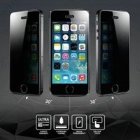 Cheap Anti-Spy Privacy Screen Protector Film for iphone 6 6 plus iphone 5s 5c 5 4s 4 samsung note 4 3 S5 S4 S3 with retail package 50pcs lot