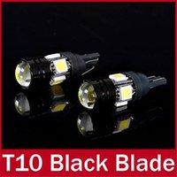 Wholesale 4 X T10 LED W5W Car LED Auto Lamp V Light bulbs with Projector Lens for Ford Focus Cruze Tiguan Interior Packing Car Styling