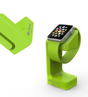 Wholesale Newest Plastic Wireless Charging Stand For Apple Watch Display Stand For Iwatch Apple Watch Stand Holder Keeper
