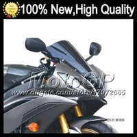 Wholesale Motocycle Dark Smoke Windshield For HONDA CBR600F4i CBR F4i F4i RR CBR600 F4i Q244 Black Windscreen Screen