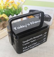 Wholesale All in One Stackable Lunch Boxes can be microwave heat Rectangle portable layers plastic crisper storage box