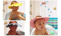 baby shampoo for adults - Deal New Arrival EVA solid adjustable Safe Shampoo Shower Bath Cap for Baby Children