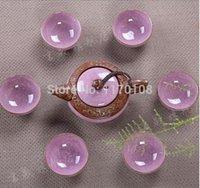 Wholesale set Crackle Glaze Tea Set Multi Color Ceramic Tea pot China teapot Tea Cups J26250046