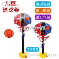 Gros-bébé Inflation Basketball Sport Indoor Outdoor Enfants Jouets Outdoor Fun Sports gonfleur haute qualité Juste Faire Apportez Votre Deal