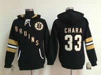 best womens hoodies - Factory Outlet Boston Bruins Jersey Sweatshirts Womens Ice Hockey Hoodies Embroidery And Stitched Zdeno Ghara Black Best