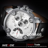 Cheap wholesales DHL free shipping 10pcs lot WEIDE Watches 30 Meters Water Resistant Sports watches Japan clock movement Quartz Watch