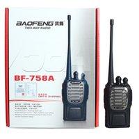 Wholesale DHL Baofeng BF a Walkie Talkie KM W Handheld Pofung bf a Two Way Radio