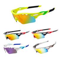 Wholesale Sports Professional Polarized Cycling Glasses Bike Bicycle Sunglasses Lenses