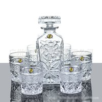 Wholesale new wine accessories drink glass set vino white wine bottle and cups gift box