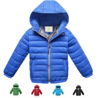 Wholesale 2015 New Winter Coat Boys Down Winter Jackets For girls Goose Feather Jacket For Boys Girls Winter Coat Upper Clothes For Girls