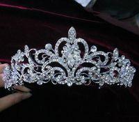 Cheap Crystal Veil Tiara Best Romantic