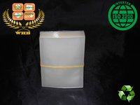Wholesale 500 WHB x8cm mic or mil recyclable PET PE clear bags heat seal packing bags forseed or stamp