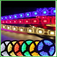 light tape - Flexible LED Strip M Waterproof IP65 LED M SMD RGB Color Light RED GREEN BULE YELLOW Cool White Warm White leds M led Tape