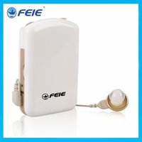 Wholesale Body worn hearing aid earphone ear sound amplifier deafness equipment S A amplified sound box