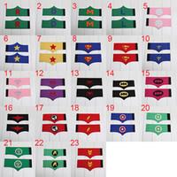 Wholesale Superman Ironman batman spiderman Felt wrister for children kids costume st Cuffs Superhero Cuffs