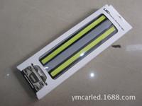Wholesale 2X super bright white COB LED lights DRL fog waterproof DC V