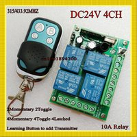 ask pro - DC V CH Remote Switch MHZ RF Wireless Remote Control Learning Code A Receiver Transmitter ASK Smart Home RM2 RM Pro NO COM NC
