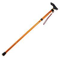aluminium canes - FS Hot Fold Folding Walking Stick Adjustable Aluminium Cane Pole gold order lt no track