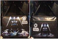 Wholesale 800PCS HHA554 Star Wars The Force Awakens Darth Vader white soldiers bounty hunter backpack Cartoon unisex zipper Messenger Bag