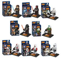 Wholesale New Star Wars Jedi Knight Building Blocks Styles Star Wars Star Soldier DIY Bricks Toys