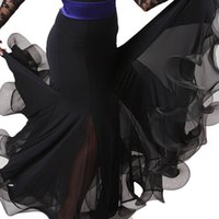 ballroom dance practice wear - Ballroom Competition Dance Dresses Women Waltz Modern Tango Flamenco Practice skirt Lady s Dancing Wear